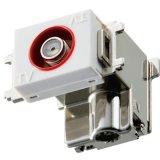 マスプロ電工 DCM7WTD-B 直列ユニット シールド型 電源挿入型 テレビ端子 3224MHz 4K8K対応 IN端子直付け型 [£]